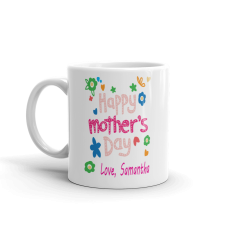 personalized mother's day mug with name
