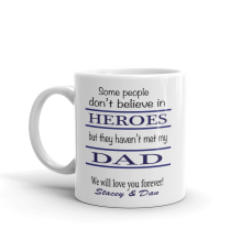 personalized dad mug with text